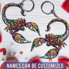 6M Personalized Keychain Scorpio Couple