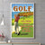Golf An Easy Game Poster