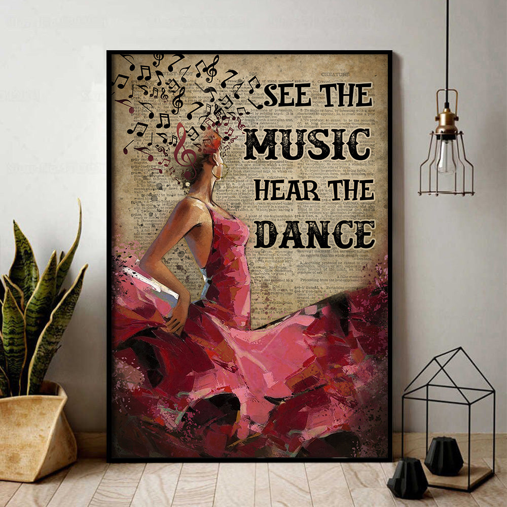 Flamenco Hear The Dance Poster