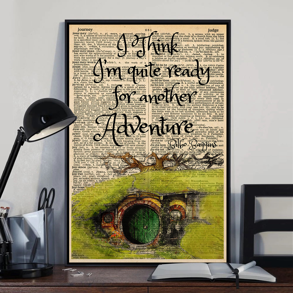Another Adventure LOTR Poster