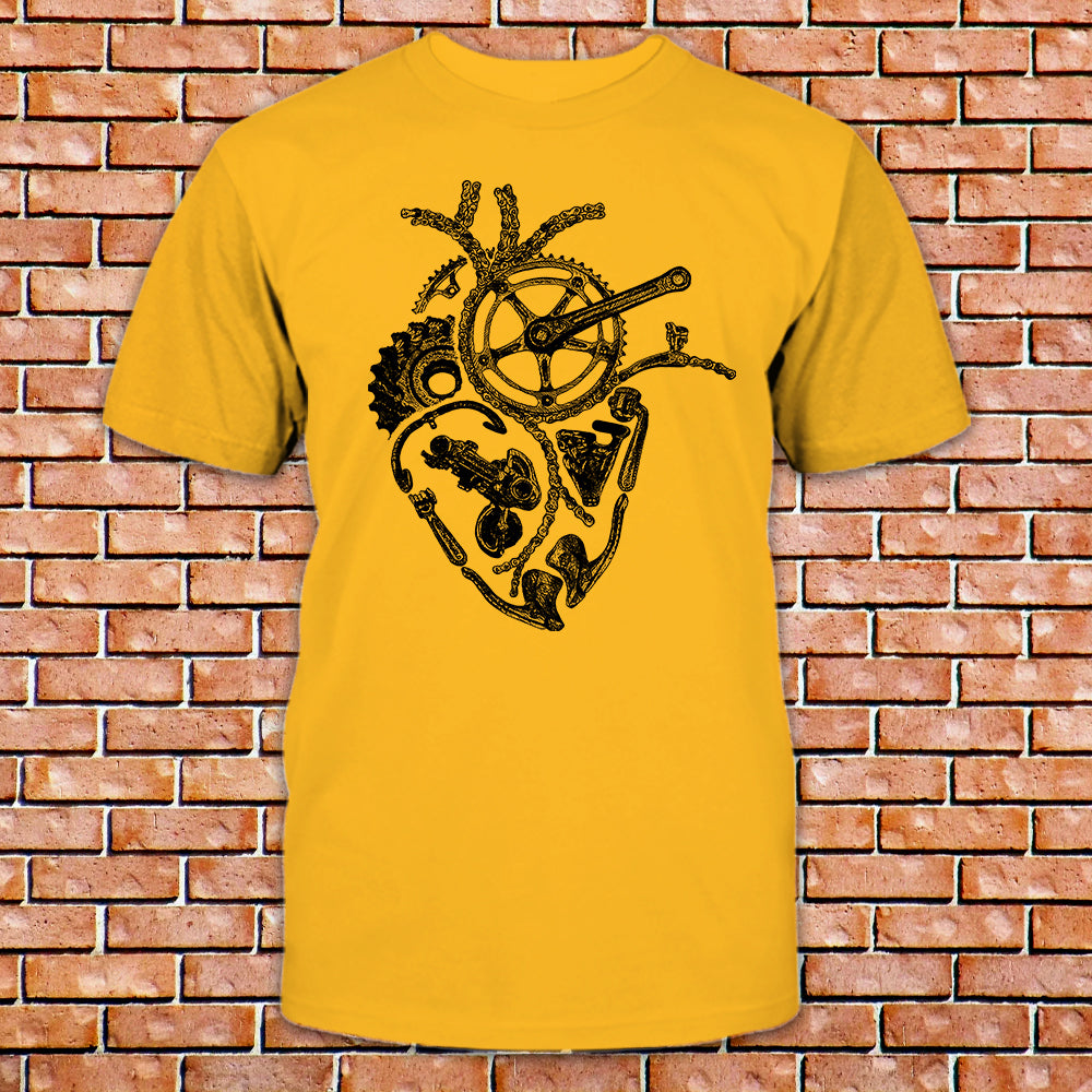 Anatomical Cycling Heart Shirt