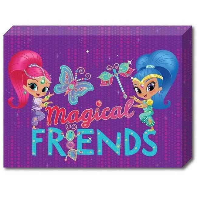 Shimmer and Shine Canvas