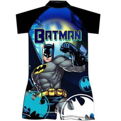 Batman Sun Safe UV Protection Surf-Suit Swimming Costume