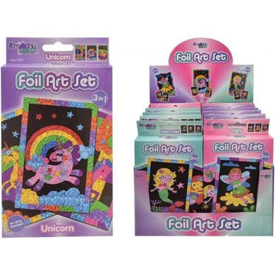 Creative Foil Art Activity Sets by Kreative Kids