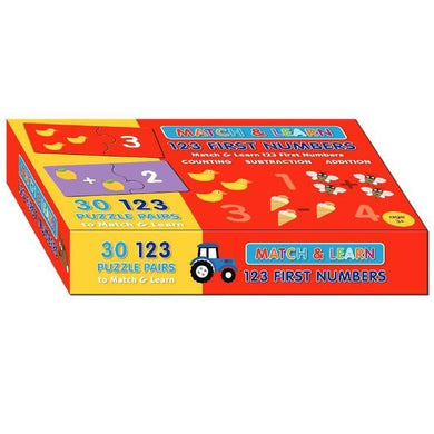 123 First Numbers Match & Learn Boxset - Melianbie Kids