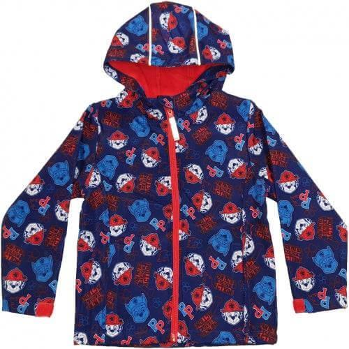 PAW Patrol Character Lightweight Shell Jacket with Fleece Lining