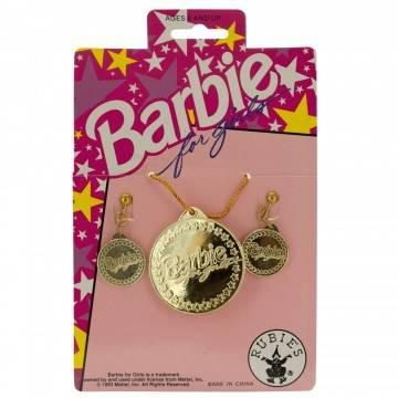 Barbie Earrings and Necklace Set - Melianbie Kids