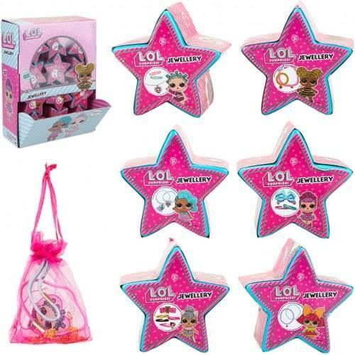 L.O.L Surprise Character Jewellery Star Capsules