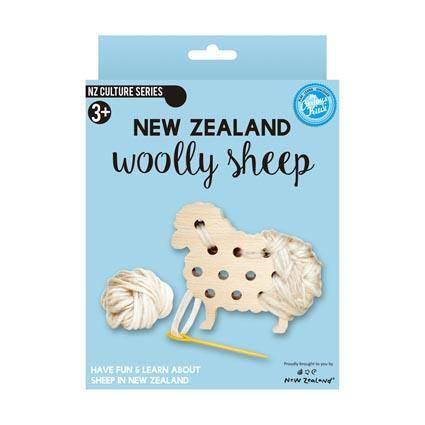 New Zealand Woolly Sheep