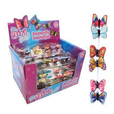 Butterfly Hairclips