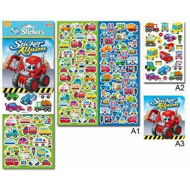 Digger Sticker Album and Stickers