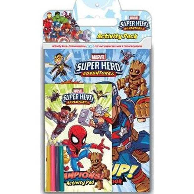 Marvel Superhero Adventures Activity Pack