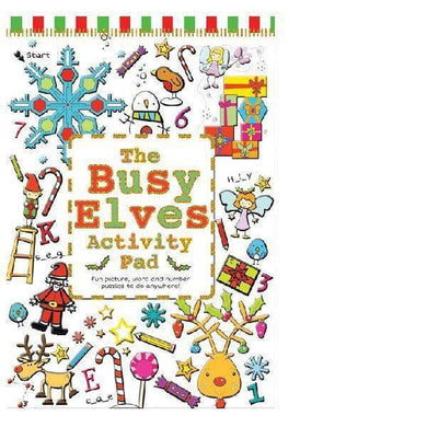 Busy Elves Mega Activity Pad