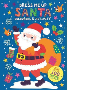 Dress Me Up Colouring and Activity Book