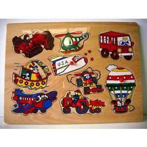 Wooden Transport Puzzle