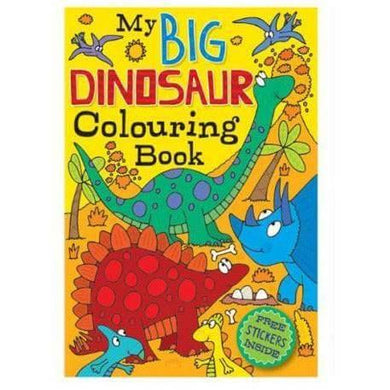 Colouring Book Dinosaurs - Melianbie Kids