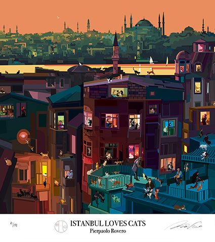 ISTANBUL LOVES CATS