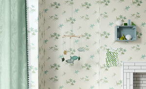 Papel pintado Tiny Turtles Wallcovering