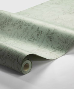 Papel animales bosque verde