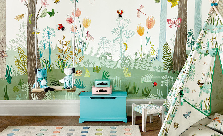 Busy Buzzy Wall Mural