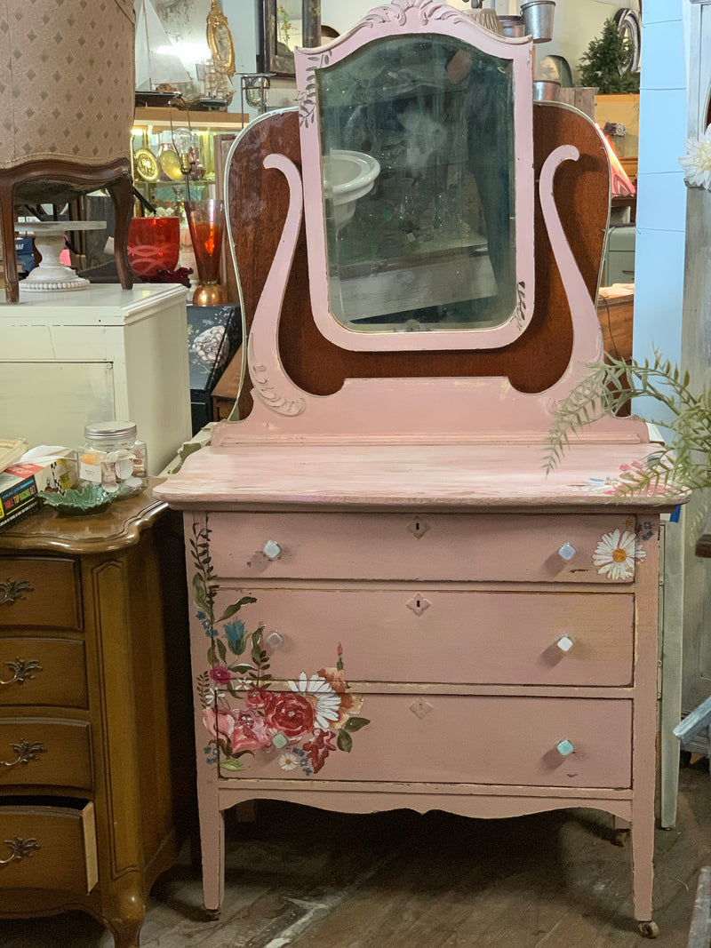 Sweet Pea Antique Dresser - Shabby Creek Off Main