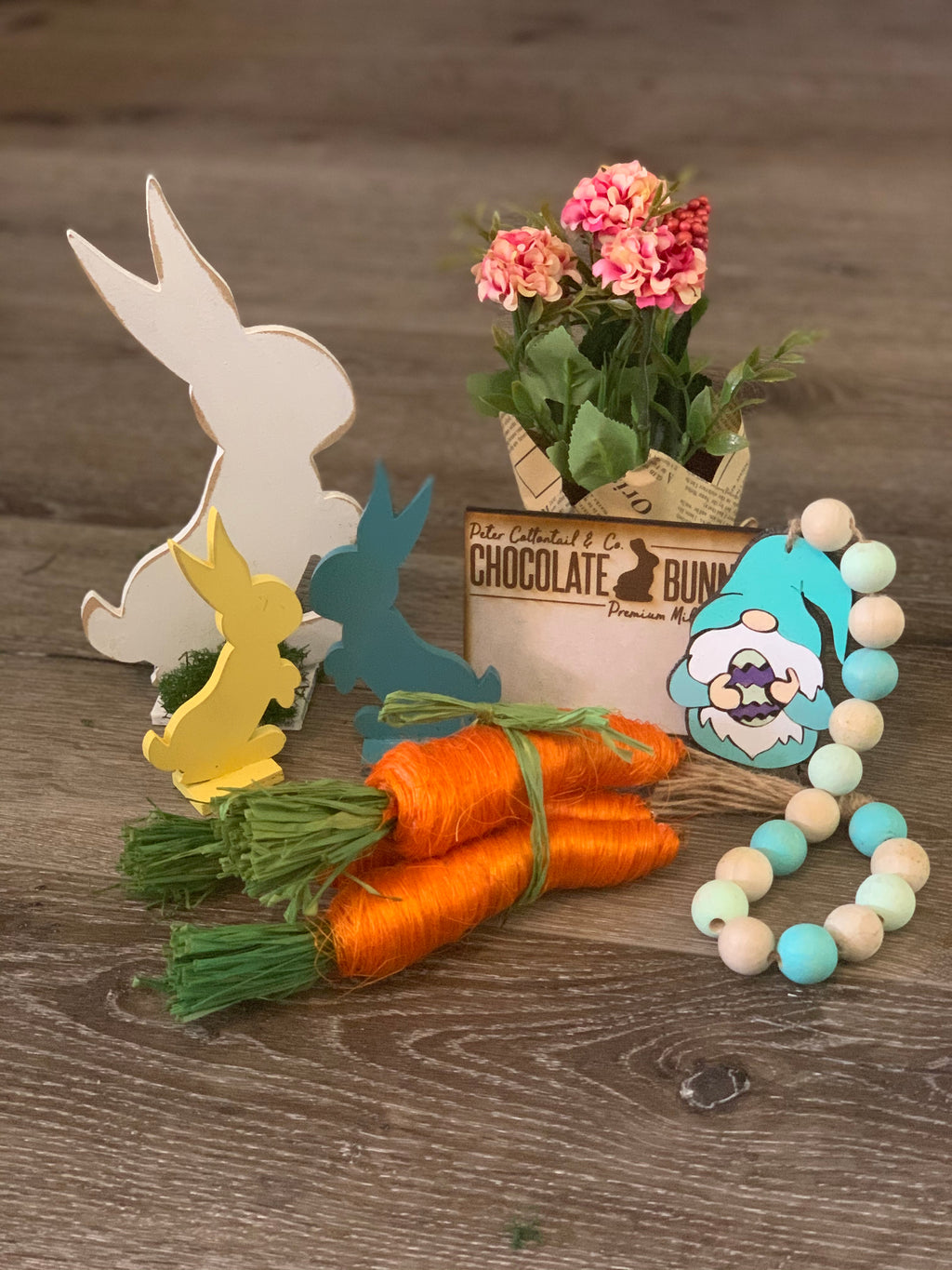 Tiered/Tray Easter Decor Bundle DIY or PrePaint - Shabby Creek Off Main