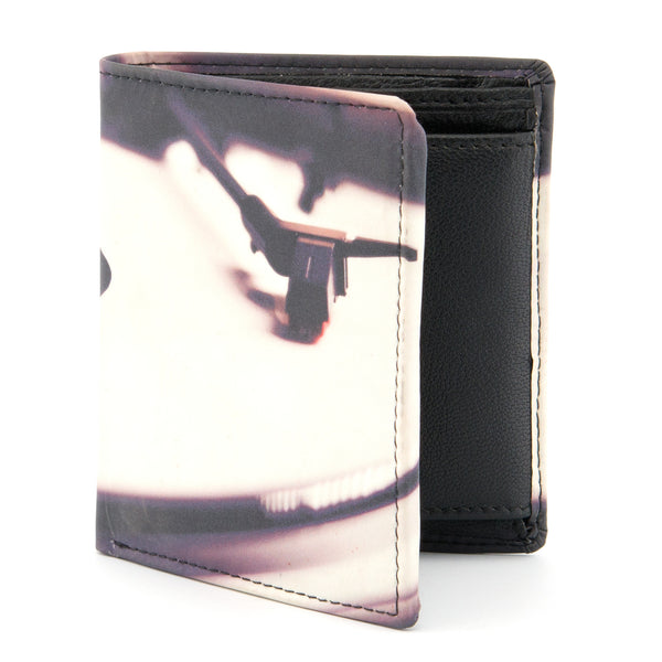 2035 19 - Two Fold Leather Vinyl Print Notecase