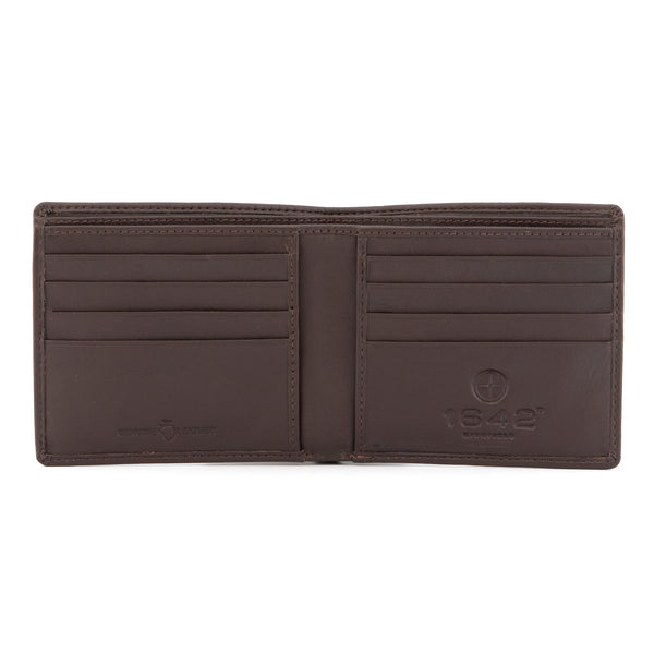 Newton Leather East West Basal Wallet