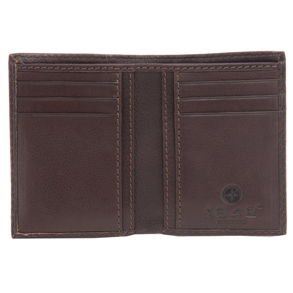 Oregon Two Fold Leather Wallet