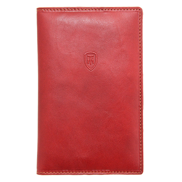 2313 THV - Italian Leather Golf Scorecard Holder
