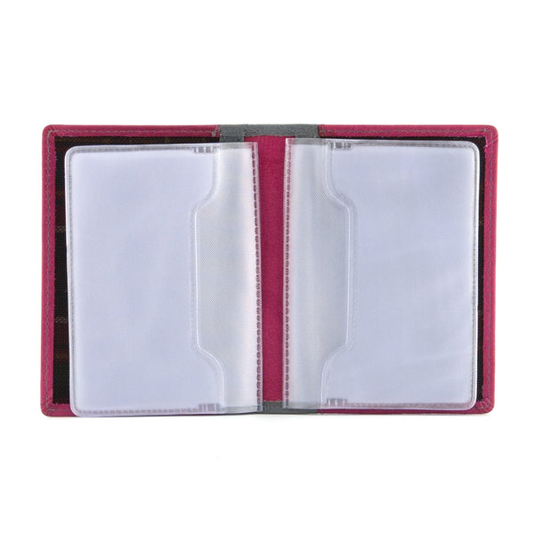 5005 46 - Leather Credit Card Holder & Plastic Inserts