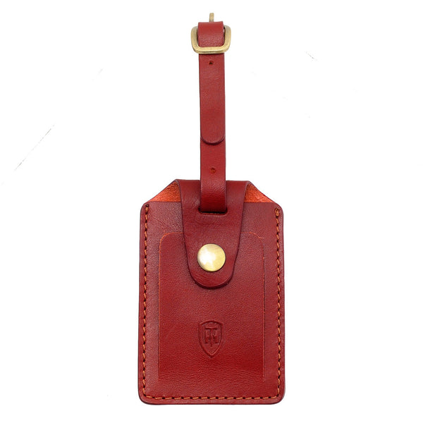 5301 THV - Italian Leather Luggage Tag