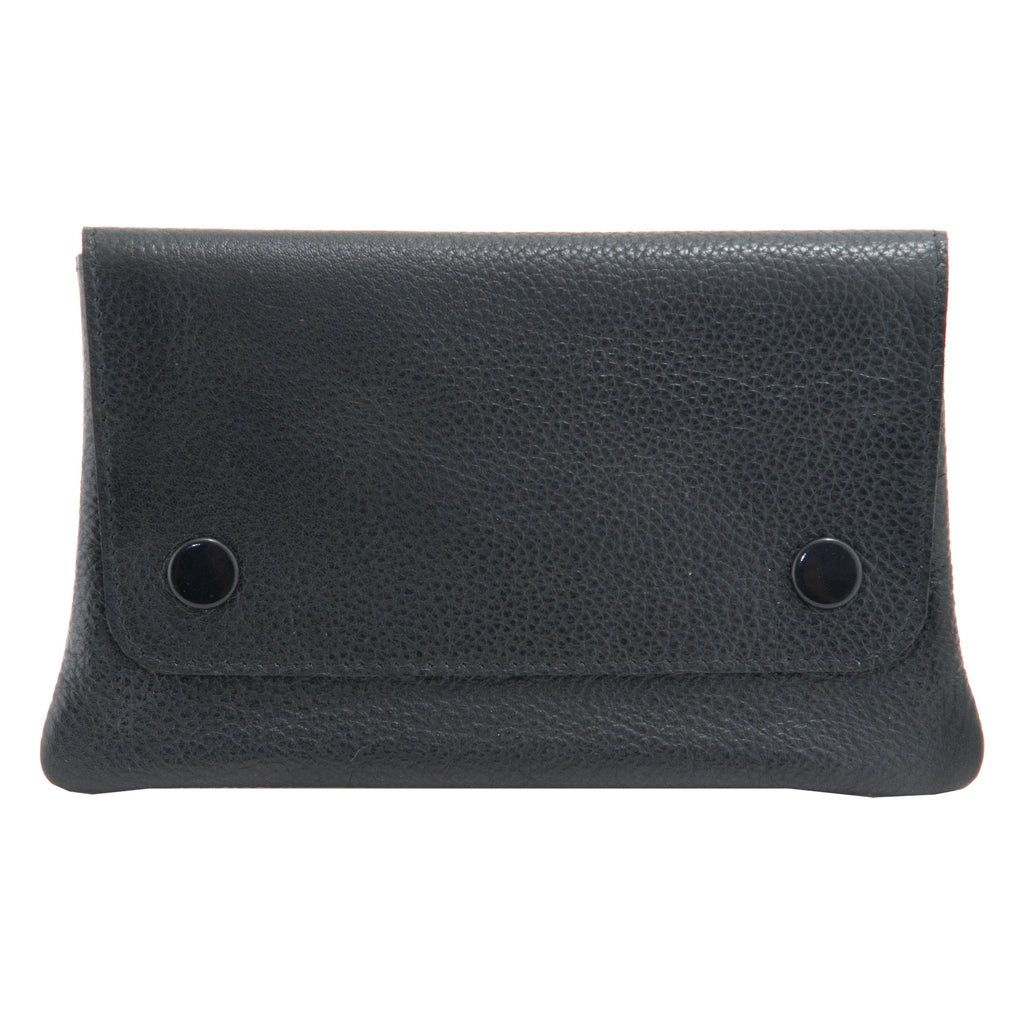 5410  - Leather Tobacco Pouch with Paper Holder
