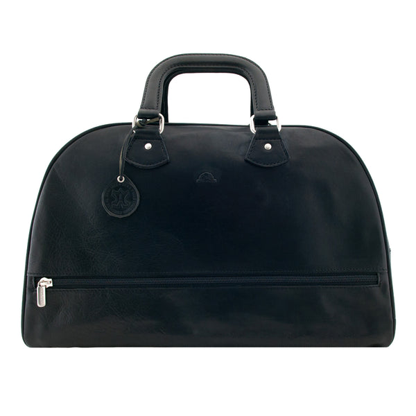 Italian Leather Overnight Bag by Tony Perotti