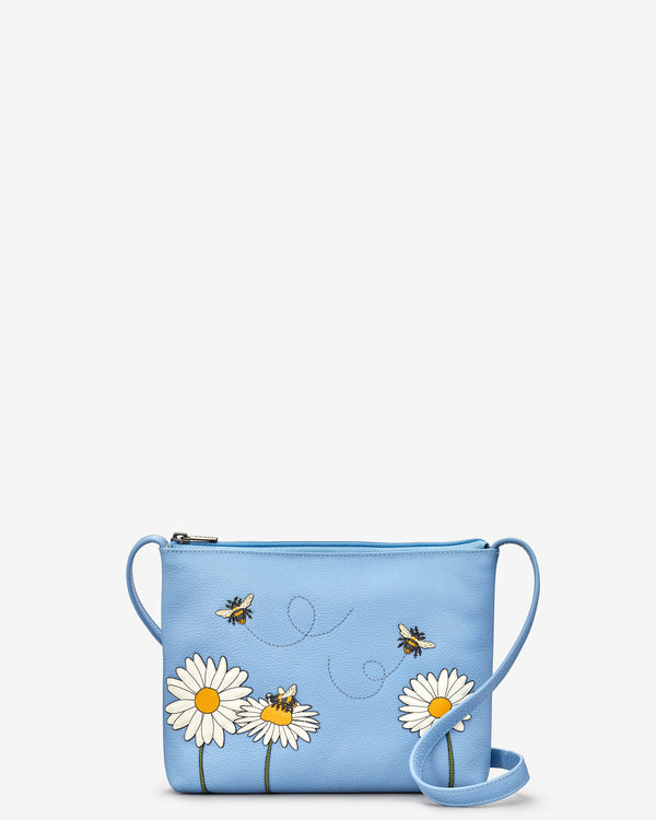 Bee Happy Parker Leather Cross Body Bag
