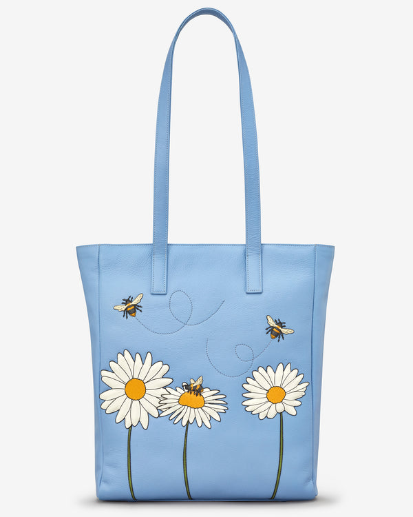 Bee Happy Marlowe Leather Shopper Bag