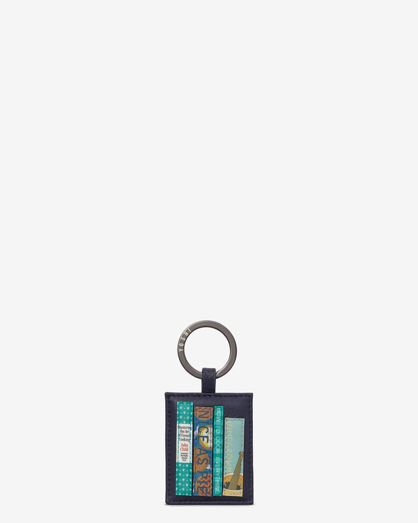 Cook Bookworm Library Leather Keyring