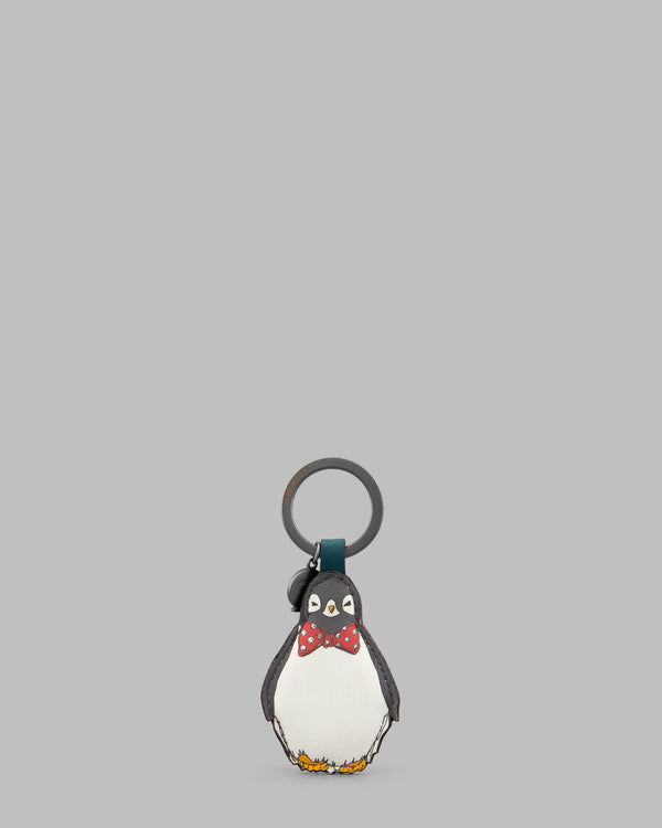 Chilly Chums Bow Tie Leather Keyring
