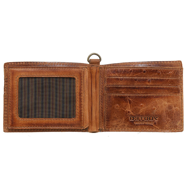 Detour Leather Two Fold Wallet
