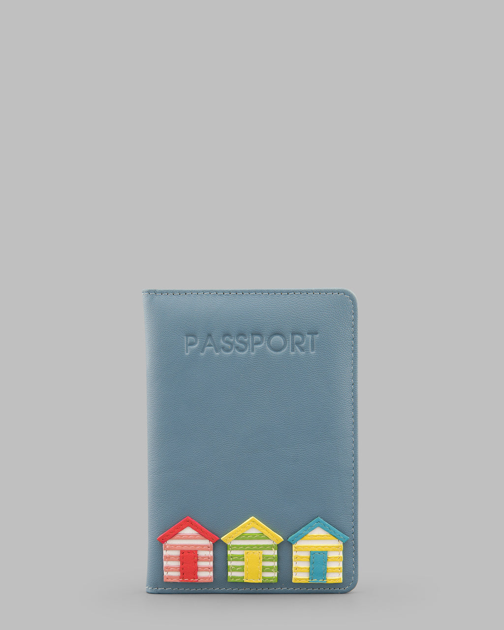 Y By Yoshi Day At The Seaside Leather Passport Cover