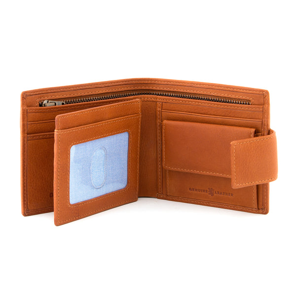 Gryphen Extra Capacity With Tab Leather Wallet