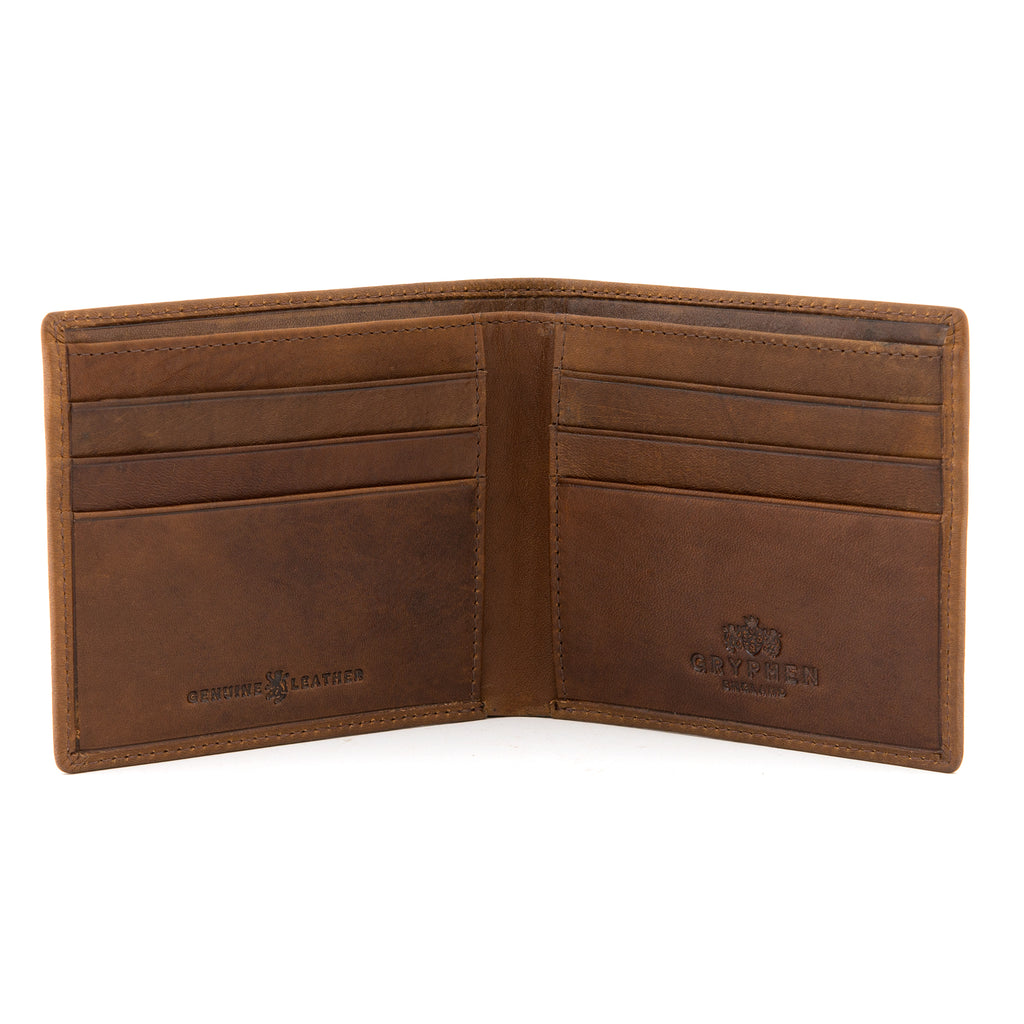 Gryphen Two Fold Leather Wallet