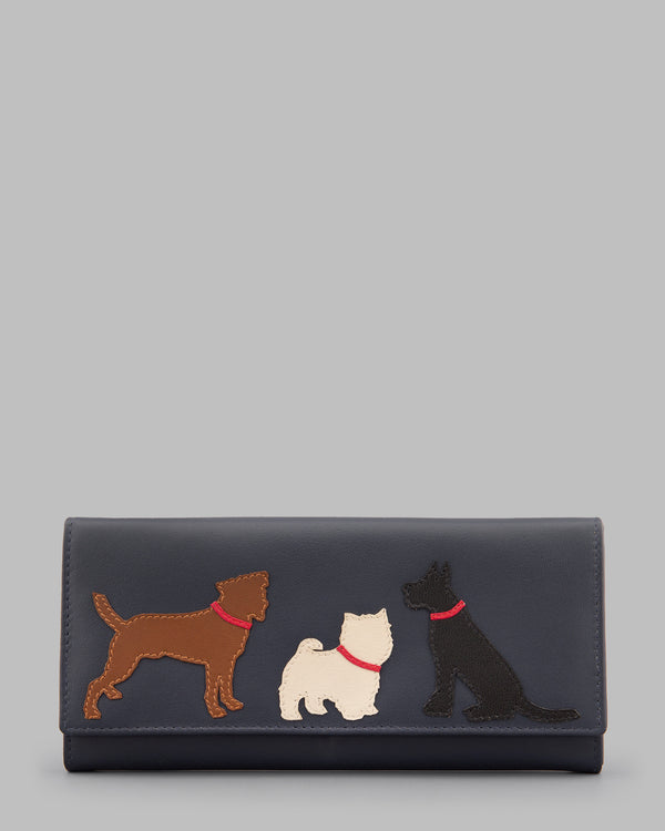 Y By Yoshi Paw-fect Pals Leather Matinee Purse
