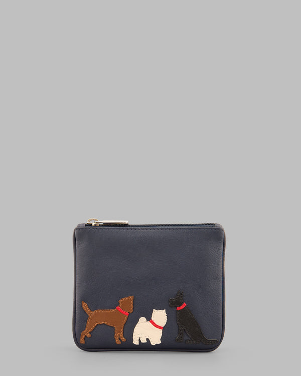 Y By Yoshi Paw-fect Pals Leather Zip Top Purse