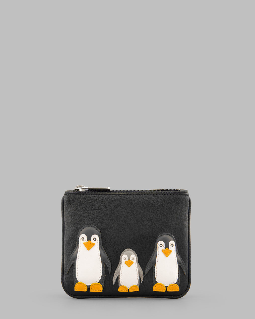 Y By Yoshi Penguin Pals Leather Zip Top Purse