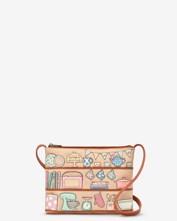 Perfect Pantry Leather Cross Body Bag