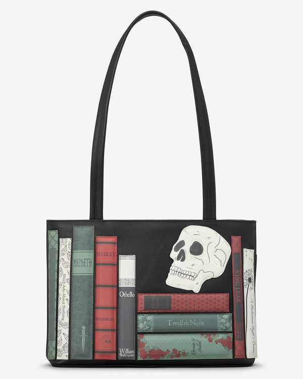 Shakespeare Bookworm Library Leather Shoulder Bag
