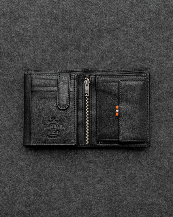 Apollo Leather Traditional Large Capacity Wallet - RFID