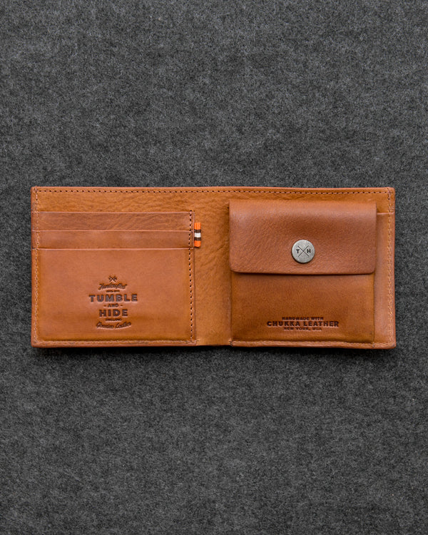 Chukka Leather Coin Pocket Wallet
