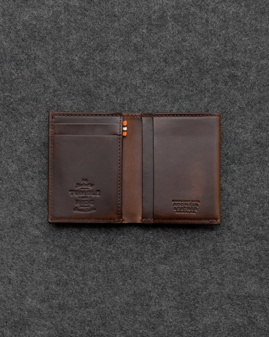 Horween Leather Card Wallet a